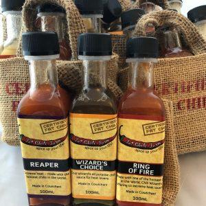 Hot Sauce Gift Bag